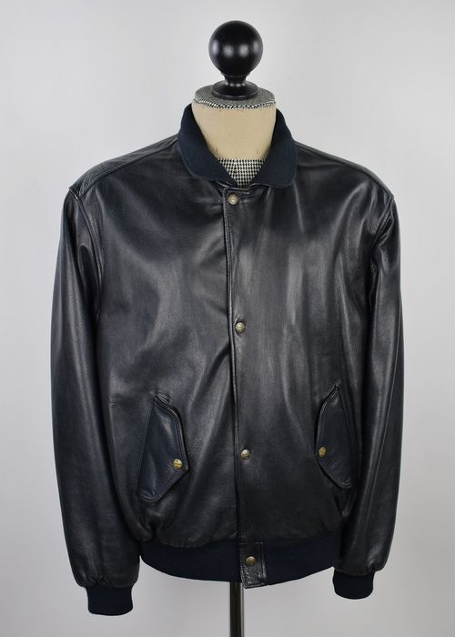 Chevignon - Leather jacket - Size: XXL