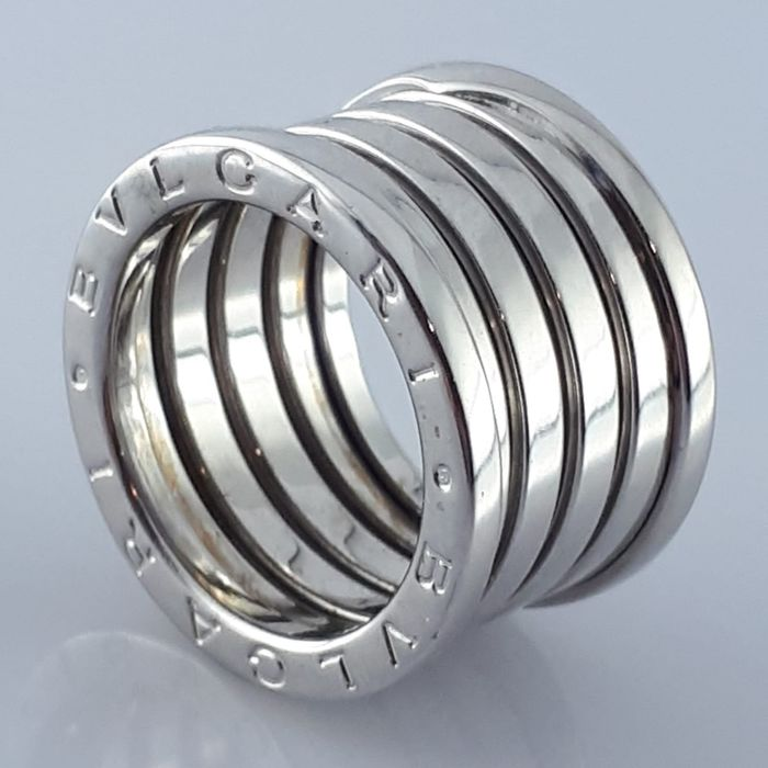 Bvlgari - 18 kt. White gold - B.Zero1 Ring