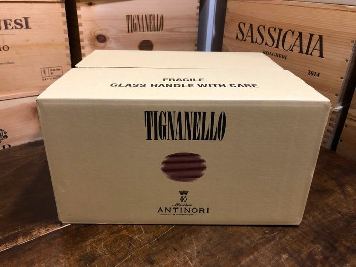 2016 Marchesi Antinori Tignanello - Supertoscanare - 6 Flaskor (0,75L)
