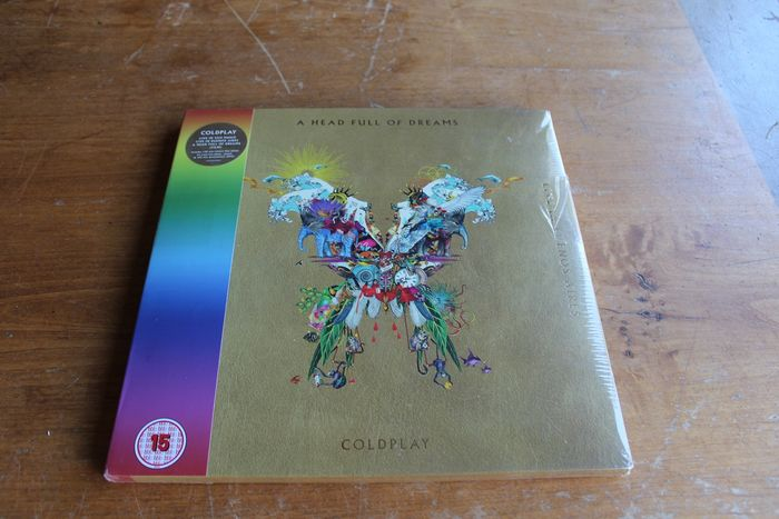 Coldplay - Live In Buenos Aires / Live In São Paulo / A Head Full Of Dreams  - DVD, Limited edition, LP Box set - 2018/2018