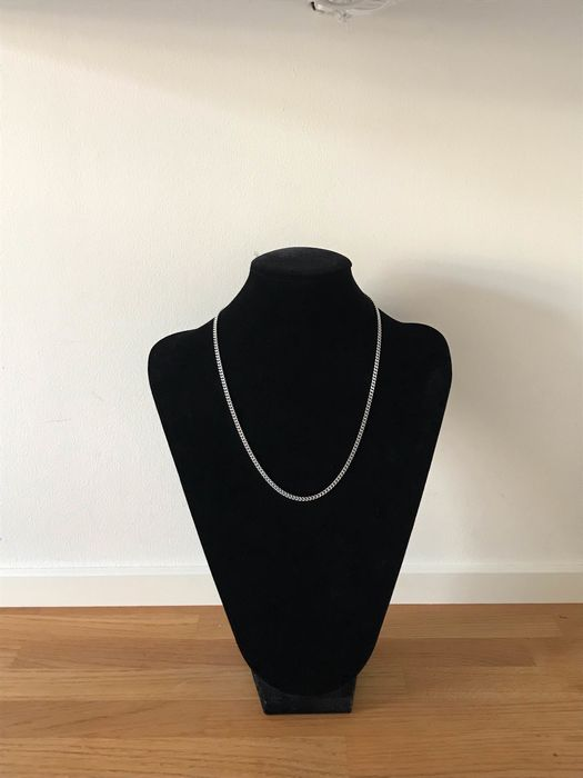 14 kt. White gold - Necklace