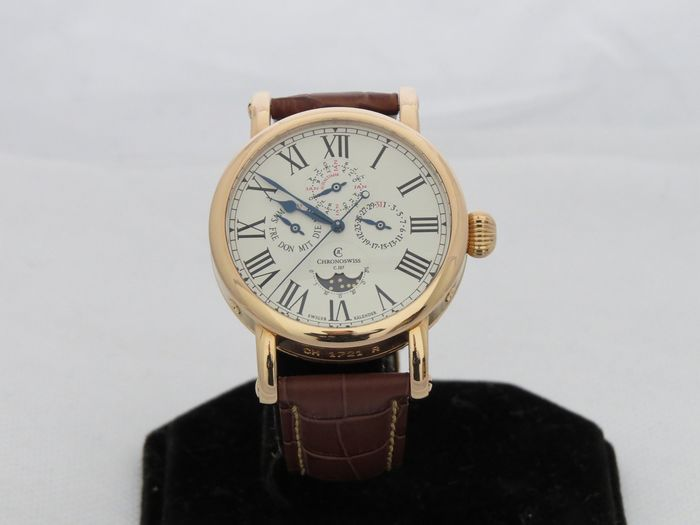 Chronoswiss - Perpetual Calendar 18ct Rose Gold - CH-1721R - Herren - 2000-2010