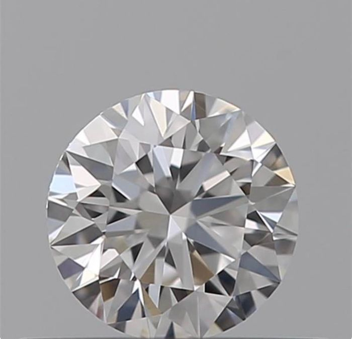 1 pcs Diamond - 0.44 ct - Brilliant - D (colourless) - VVS2