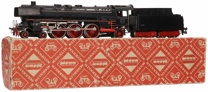 Märklin H0 - 3026 - Steam locomotive with tender - BR 01, with Telex coupling - DB