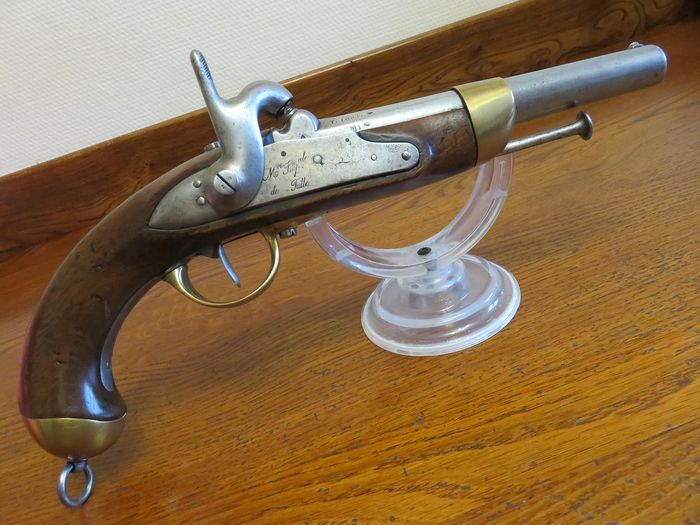 France - Pattern 1822 - Cavalry - Percussion - Cavalry pistol model 1822 T France - 18mm cal