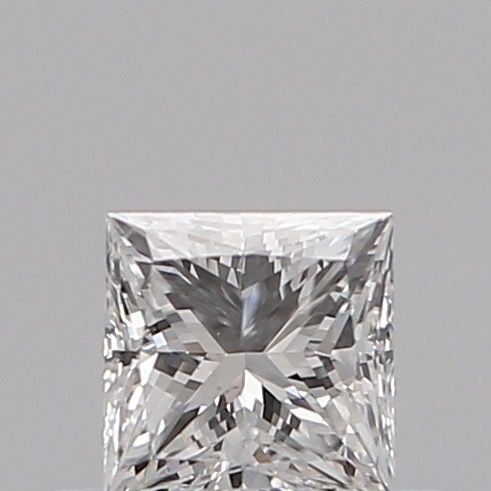 1 pcs Diamant - 0.30 ct - Prinses - D (kleurloos) - SI2, ***no reserve***