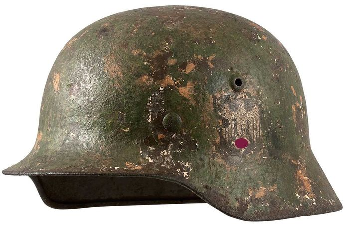 Germany - Camouflage helmet M40 of the Wehrmacht