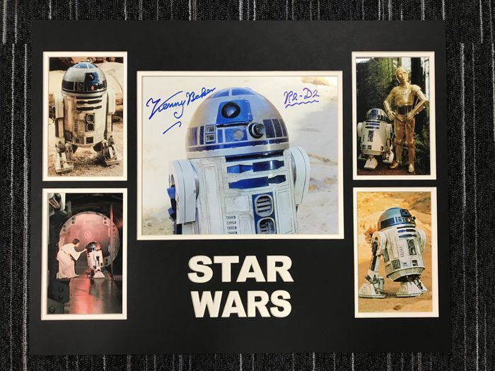 Star Wars - Kenny Baker - Autographe, Photographie