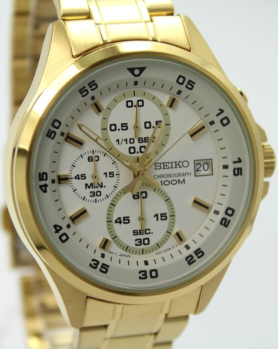 Seiko - 'NO RESERVE PRICE' Chronograph - New & Boxed - Homme - 2011-aujourd'hui