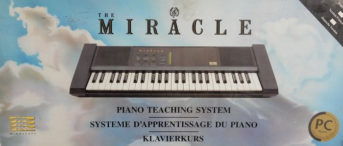 Miracle Piano Teaching system PC - Piano/keyboard - In original box