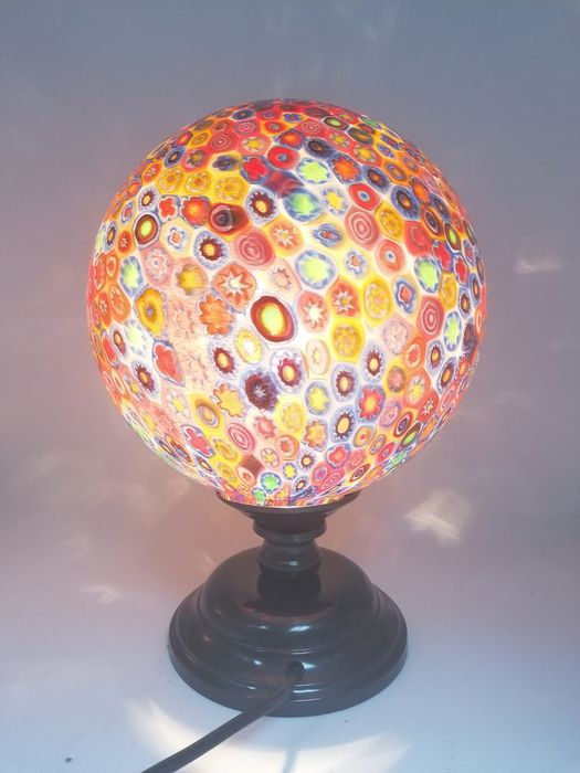 Campanella Multicolour Millefiori Murrina Lamp Catawiki