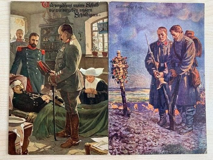 Military, Royalty, World War 1 - Postcards (Collection of 176) - 1900-1925