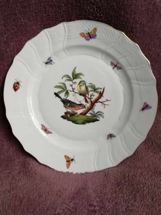 Herend - Rothschild plate (1) - Porcelain