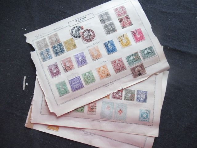 Japan - Collection of fiscal stamps
