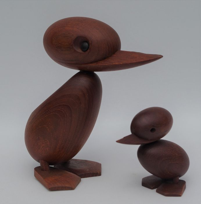 Duck and Duckling - Design Hans Bolling for Orskov & co. Denmark