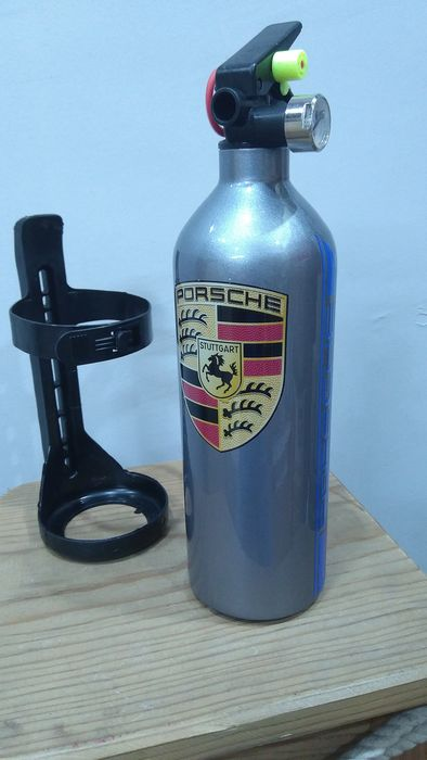 Car fire extinguisher - PORSCHE Retro Design - 2019
