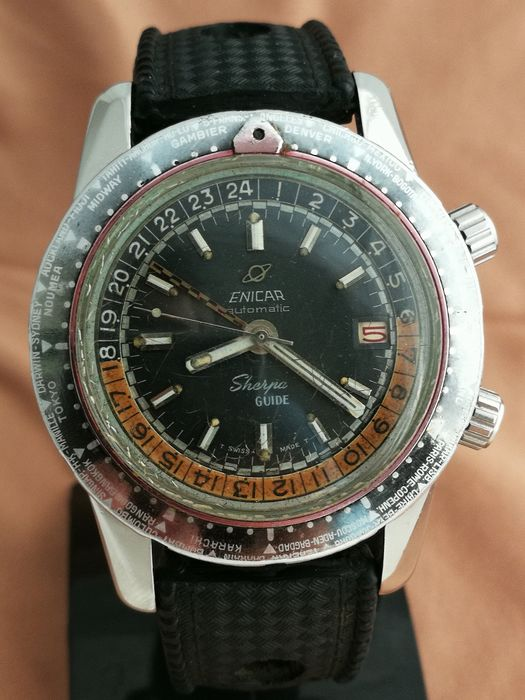 Enicar - Sherpa GMT - Men - 1960-1969