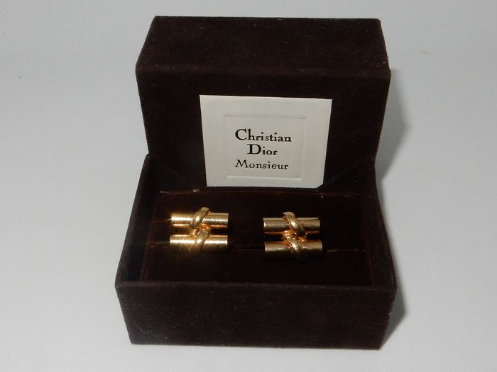 Christian Dior Gold-plated - Cufflinks