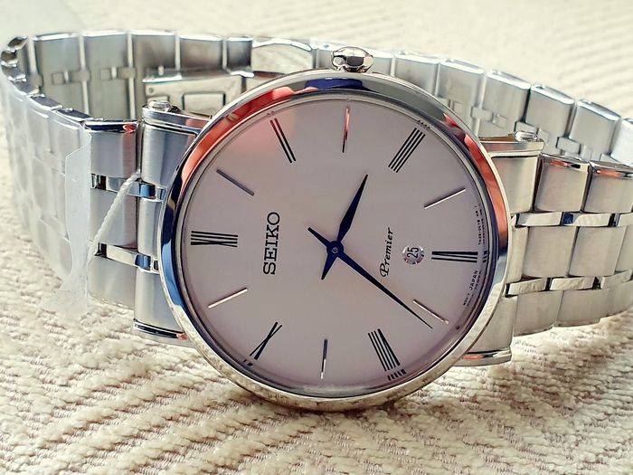 Seiko - luxury seiko  Premier classic with stainless steel bracelet  - Herren - 2019