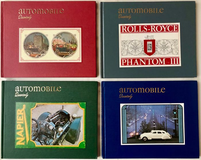 Bücher - Automobile Quarterly, 2 x Volumes 17 and 18, 8 Books! - 1979-1980
