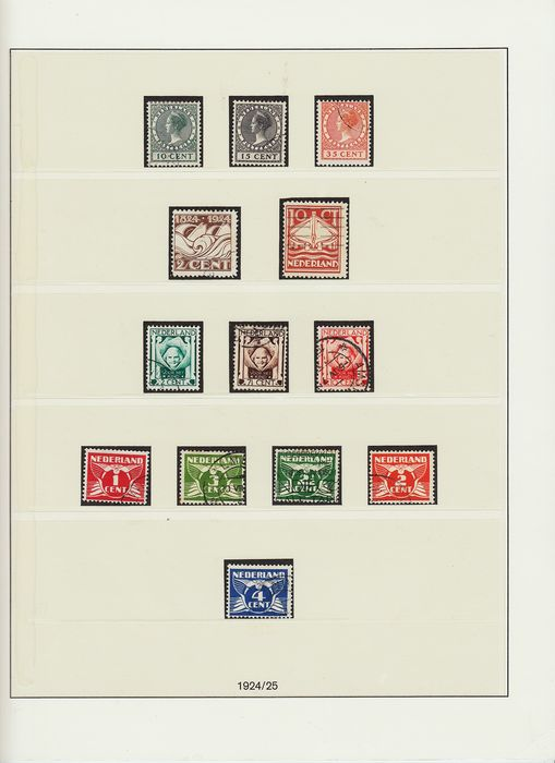 Netherlands 1924/1952 - Complete collection