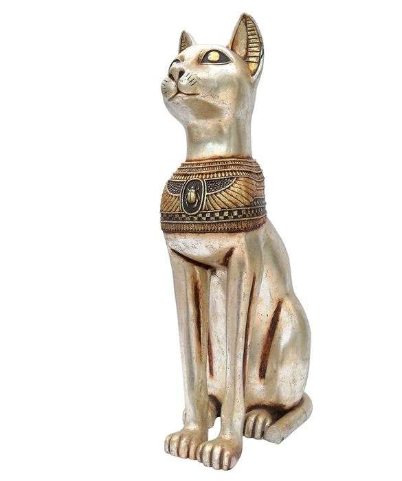 AW designs - Egyptian cat XL - Resin/Polyester