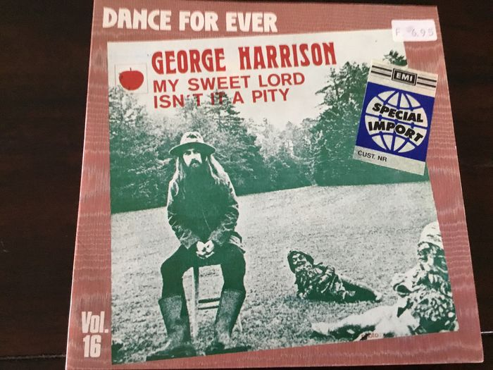George Harrison & Related - Multiple titles - 45 rpm Single - 1970/1989