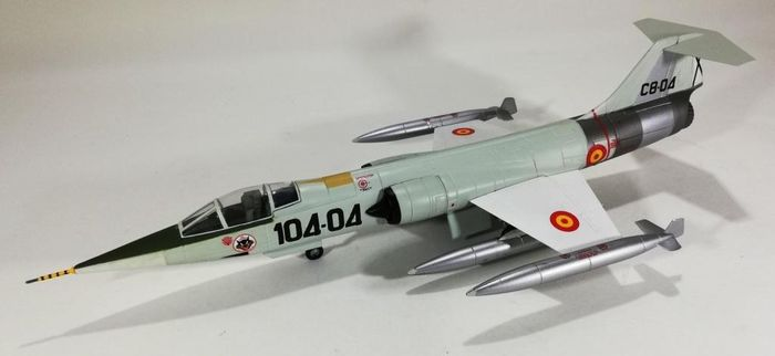 Armour Collection - Escala 1:48 - Scale model, Lockheed F-104 Starfighter - Spanish Air Force. - Zamac
