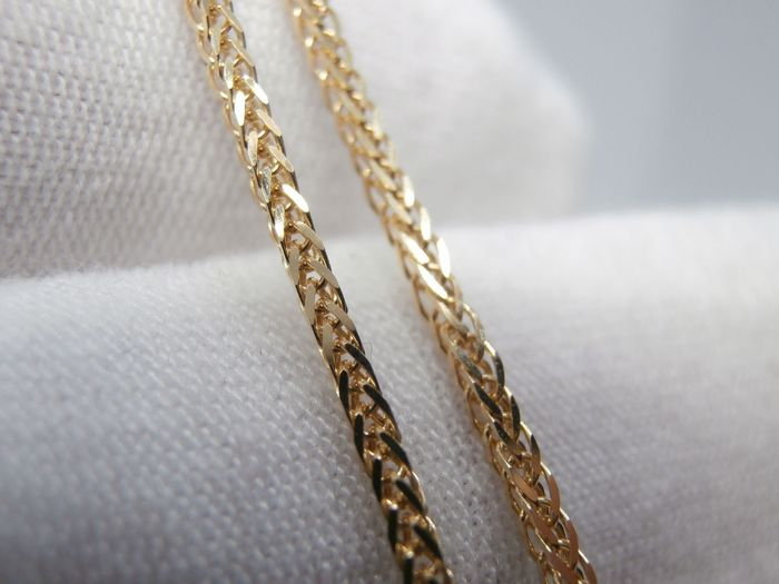 OV - 18 kt. Yellow gold - Necklace