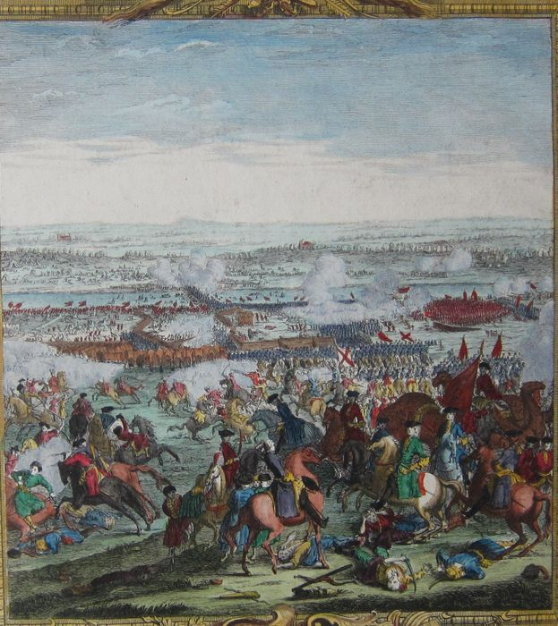 Serbia, Senta; C. du Bosc - The Battle of  Zente (...) - 1736