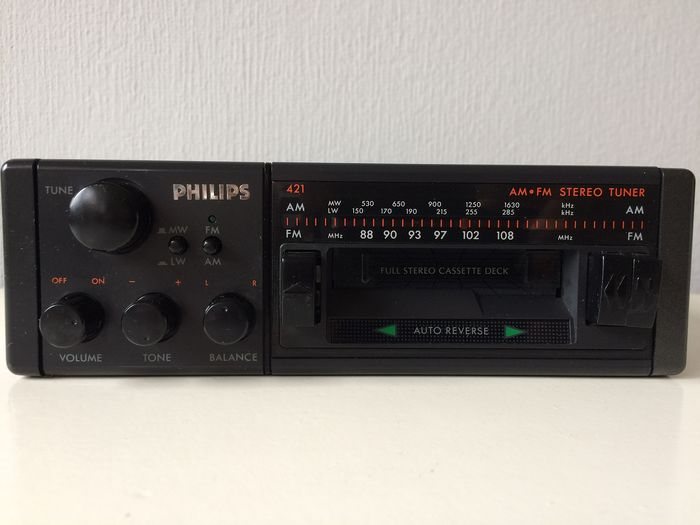 Analog stereo - Philips 421 - 1990-1991