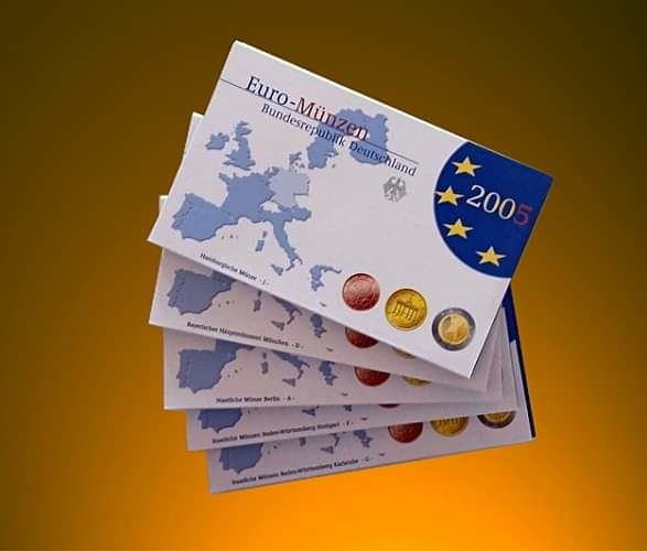 Germany - Euro 2005 - A-D-F-G-J Complete series (40 Coins in Total)