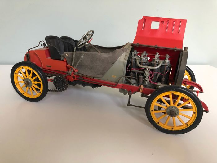 Pocher - 1:8 - Fiat Grand Prix 130 HP F-2 - 1907