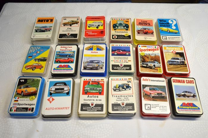 car quartets from the 60s 80s (35) - Paper