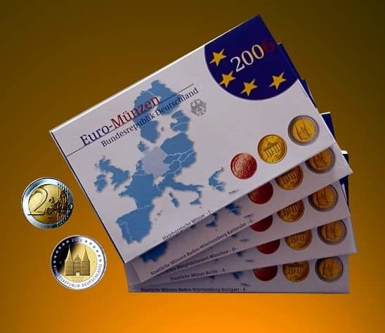 Germany - Euro 2006 - - A-D-F-G-J- Complete series (45 Coins in total)