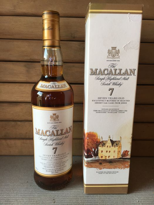 Macallan 7 years old Maxxium Import - 70cl