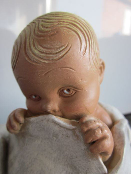 Yourin A. - A baby is born! - baked clay