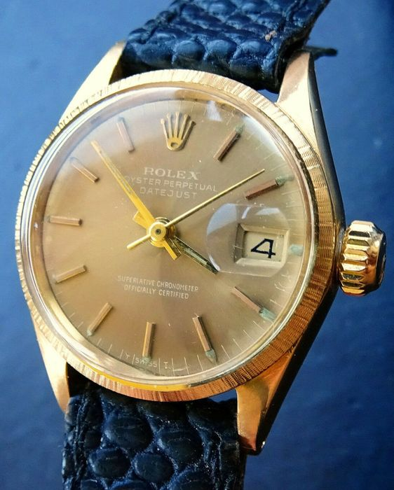 Rolex - Oyster Perpetual Datejust - 6703  NO RESERVE PRICE  - Women - 1970-1979