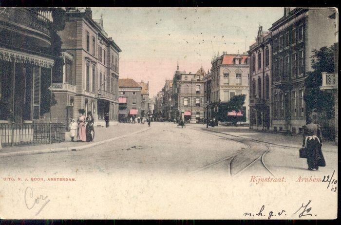 Netherlands - Gelderland - old and very old village and cityscape - Postcards (Collection of 123) - 1900-1950