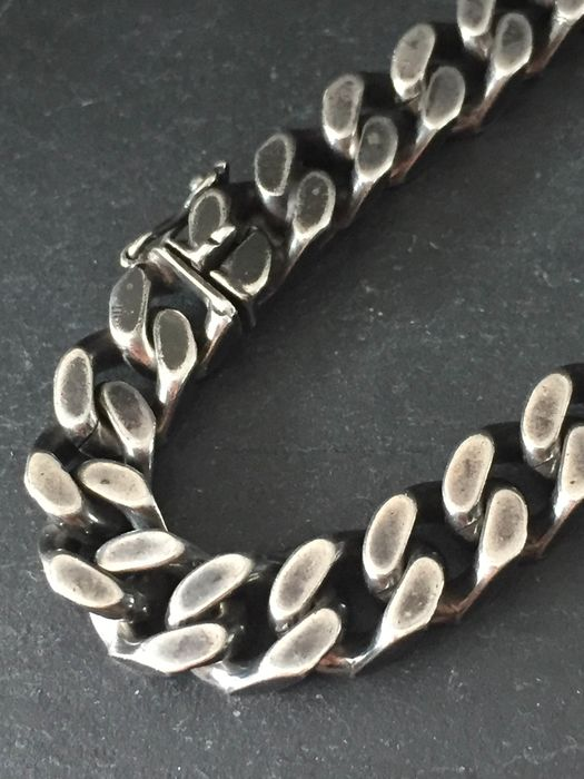 835 Silver - Silver chain gourmet link