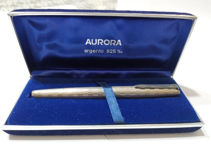 Aurora - Fountain pen - model 98 in 925 silver of 1