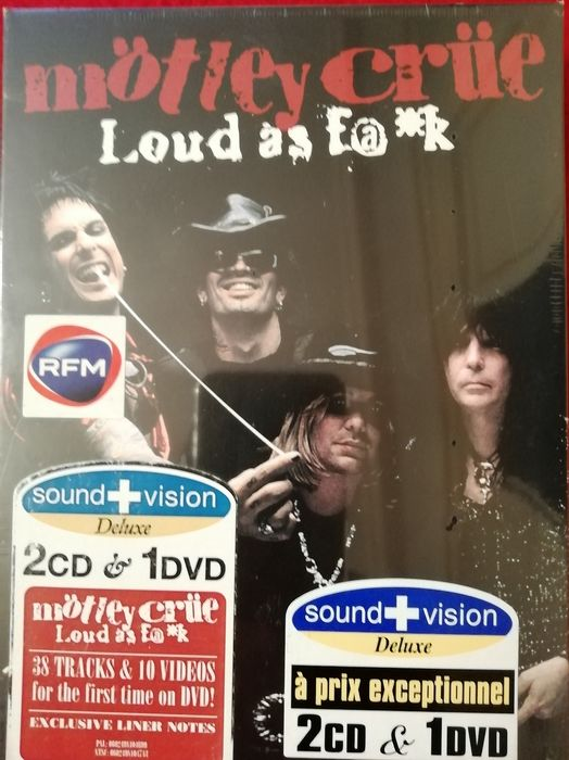 Mötley Crüe - Loud As F@*k - Multiple titles - Deluxe edition, Limited edition, 2CD&1DVD Box-set - 2003/2003