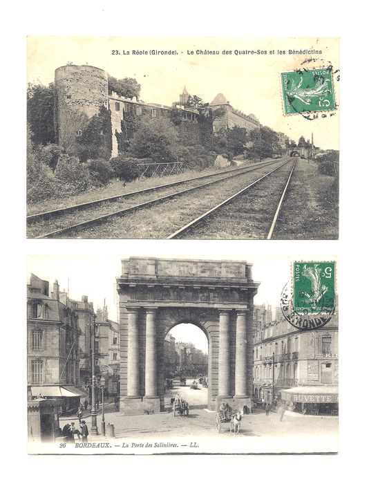 France - City & Landscape - Postcards (Collection of 100) - 1900-1910