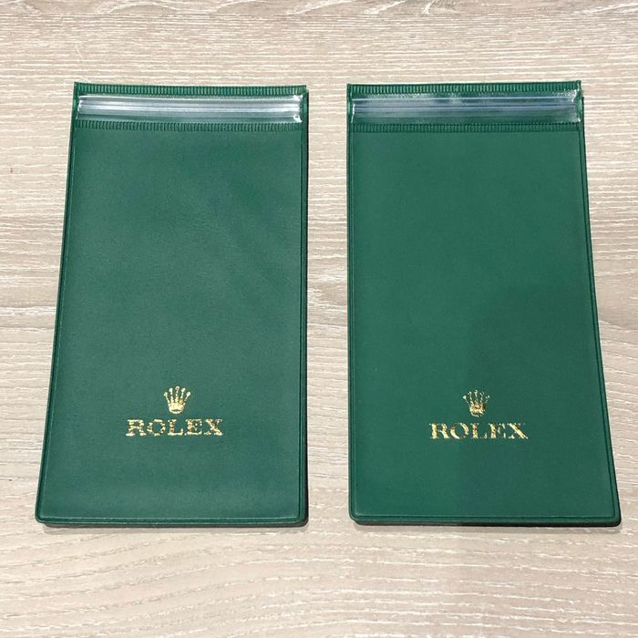 Rolex - Lot of 2 Vintage Watchpouch - Out of Production - Unisex - 1970-1979