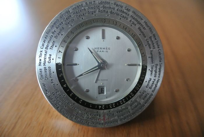 Travel clock - Steel - 1970 1990
