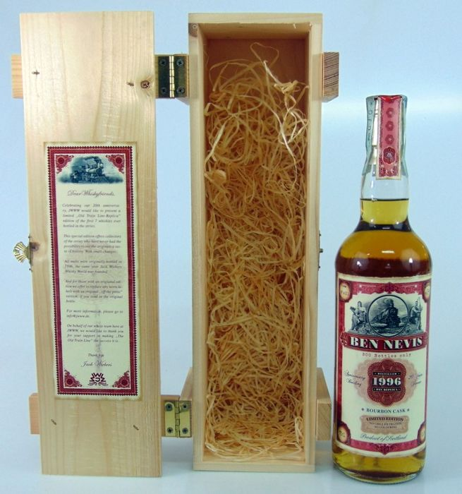 Ben Nevis 1996 20 years old Anniversary Bottling - Jack Wiebers - 70cl