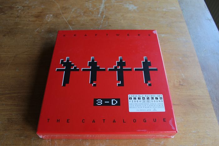 Kraftwerk - 3-D (The Catalogue) - 4 × Blu-ray - Colección limitada - 2017/2017