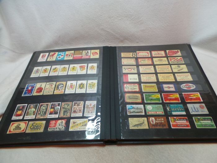 Old collection of old matchbox labels - Gosho Japan doll series - 1970s (394) - Paper