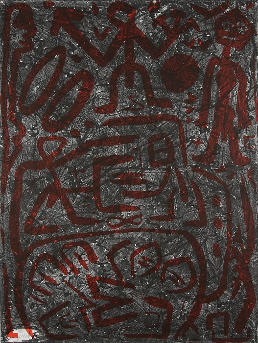 A.R. Penck - Komposition