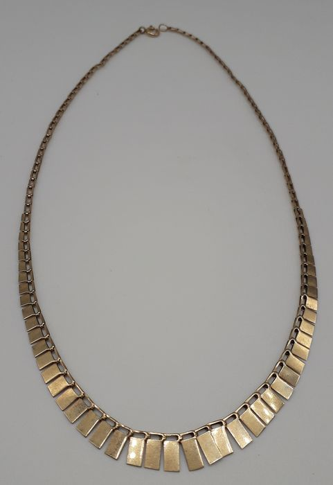 Cleopatra Style - 9K Yellow gold - Necklace